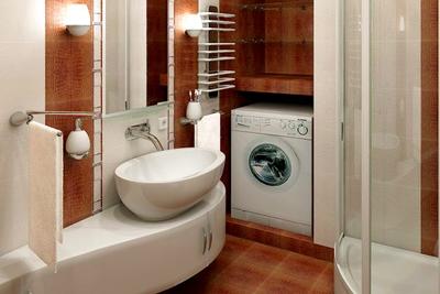 Электрика в ванной для стиральной машины